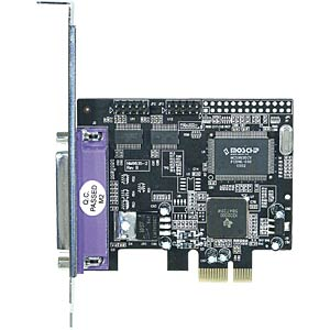 Longshine PCI Express X1 - 2x seriell, 1x parallel LONGSHINE LCS-6322M