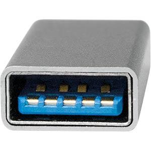 USB C Stecker auf USB 3.0 A Buchse LOGILINK AU0042