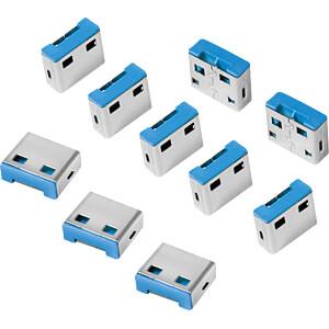 USB-A-poortslot (10 x sloten) LOGILINK AU0046