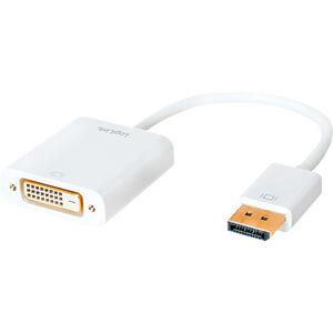 DisplayPort-adapter, DP 20-Pin 1.2 naar DVI-actief LOGILINK CV0058B
