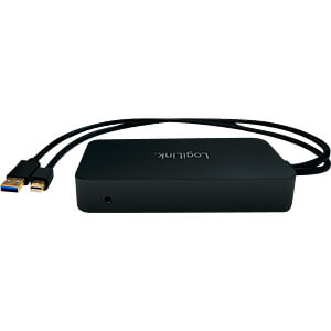Adapter miniDP < DVI, HDMI, VGA, LAN, USB 3.0 LOGILINK CV0111