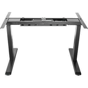 Electrically height-adjustable desk stand black LOGILINK EO0001