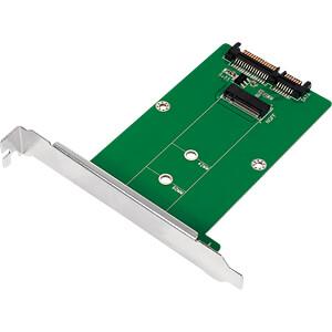 LOGILINK PC0085 - SATA zu M.2 SATA SSD Adapter