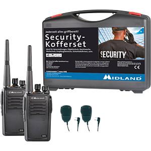 MIDLAND G15 S1 - Business PMR Security-Koffer 2er Set