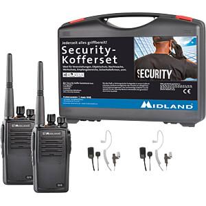 MIDLAND G15 S2 - Business PMR Security-Koffer 2er Set