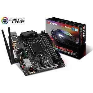 MSI Z270I Gaming Pro Carbon AC (1151) MSI 7A66-001R