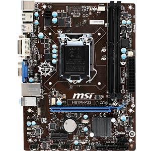 MSI H81M-P33 (1150) MSI 7817-019R