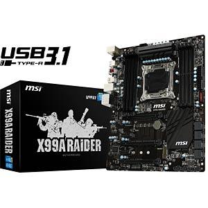 MSI X99A RAIDER (2011-3) MSI 7885-036R