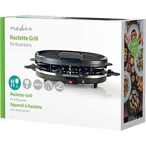 Raclette-Grill, 8 Personen NEDIS FCRA110EBK8
