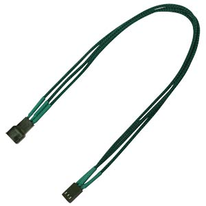 3-Pin Verlängerung, 30 cm, Single, grün NANOXIA NX3PV3EG