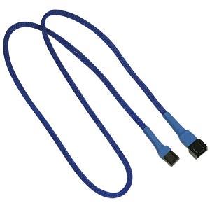 3-Pin Verlängerung, 60 cm, blau NANOXIA NX3PV60B