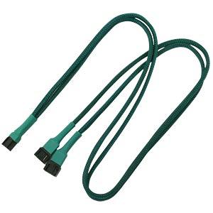 3-Pin Y-Kabel, 60 cm, grün NANOXIA NX3PY60G