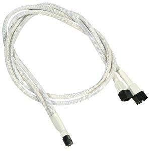 3-Pin Y-Kabel, 60 cm, weiß NANOXIA NX3PY60W
