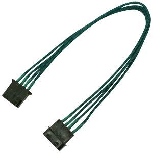 4-Pin Verlängerung, 30 cm, Single, grün NANOXIA NX4PV3EG