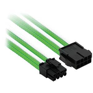 8er PCI-E Verlängerung, 30 cm, Single, grün/weiß NANOXIA NX8PE3EGW
