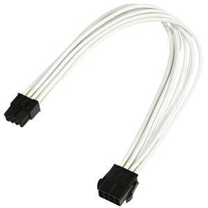 8er PCI-E Verlängerung, 30 cm, Single, weiß NANOXIA NX8PE3EW