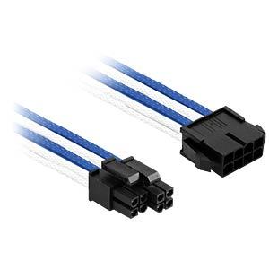 EPS Verlängerung, 30 cm, Single, blau/weiß NANOXIA NX8PV3EBW