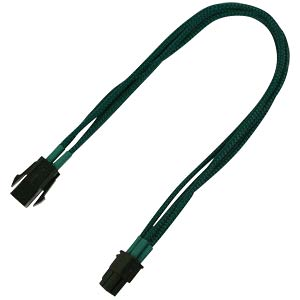 P4 Verlängerung, 30 cm, Single, grün NANOXIA NXP4V3EG