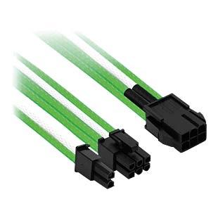6- auf 6+2-Pin, 30 cm, grün/weiß NANOXIA NXP683EGW