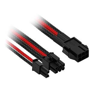 6- auf 6+2-Pin, 30 cm, schwarz/rot NANOXIA NXP683ESR