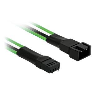 PWM Verlängerung, 30 cm, Single, grün/weiß/schwarz NANOXIA NXPWV3EGWS