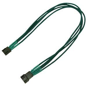 PWM Verlängerung, 30 cm, Single, grün NANOXIA NXPWV3EG