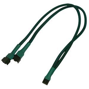 PWM Y-Kabel, 30 cm, grün NANOXIA NXPWY30G