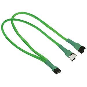 PWM Y-Kabel, 30 cm, neon-grün NANOXIA NXPWY30NG