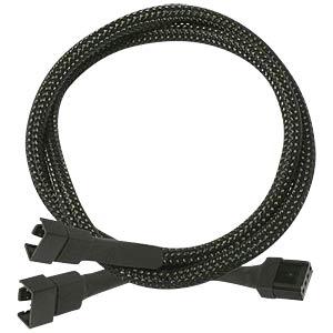PWM Y-Kabel, 30 cm, schwarz NANOXIA NXPWY30