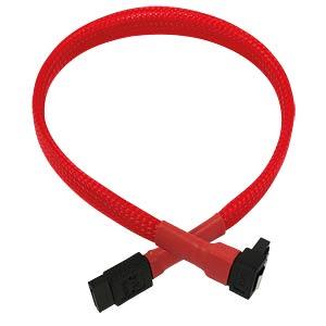 SATA 6Gb/s Kabel abgewinkelt, 30 cm, rot NANOXIA NXS6G3R