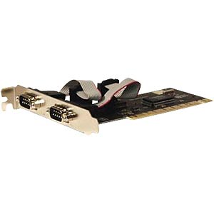 2 Port, seriell, PCI Karte LONGSHINE LCS-6021