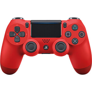 PS4 9814153 - Sony DualShock 4 2.0 Controller wireless Magma (rot)