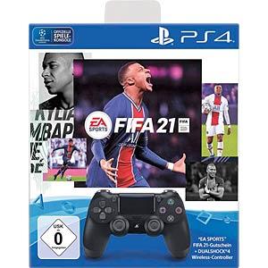 PS4 9832328 - Sony DualShock 4 Controller inkl. FIFA21