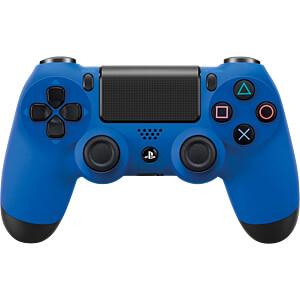 PS4 9893950 - Sony DualShock 4 2.0 Controller wireless wave blau