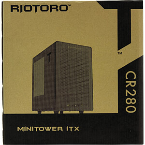 RIOTORO Midi-Tower CR280, schwarz RIOTORO CR280