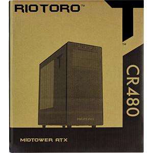 RIOTORO Midi-Tower CR480, schwarz RIOTORO CR480