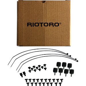 RIOTORO Midi-Tower CR500, schwarz RIOTORO CR500