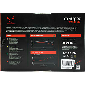 RIOTORO Onyx 750W ATX 2.4 RIOTORO PR-BA0750-SM-EU