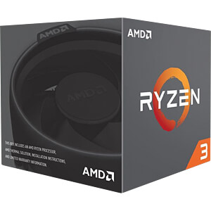 AMD AM4 Ryzen 3 1300X, 4x 3.40GHz, boxed AMD YD130XBBAEBOX