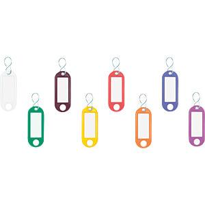 SAH 100 BUNT - Schlüsselanhänger farbsortiert 100 Stück