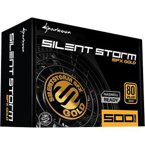Sharkoon Silent Storm SFX 500 Watt SHARKOON 4044951016419