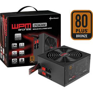 Sharkoon Netzteil WPM 700 Watt SHARKOON 4044951013661