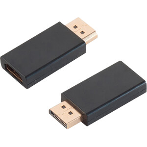 Adapter DisplayPort-stekker < HDMI-bus, verguld SHIVERPEAKS BS77403