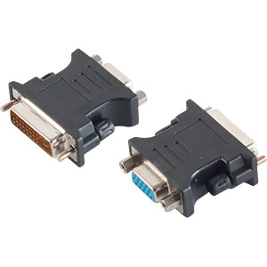 Adapter DVI-D-Stecker 24&#43;1 Dual-Link < VGA-Buchse SHIVERPEAKS BS77416-2
