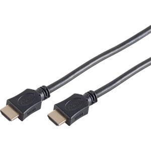 HDMI-A Stecker < HDMI-A Stecker HEAC vergoldet 5 m SHIVERPEAKS BS77475