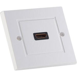 Wanddose 1x HDMI Buchse, weiß SHIVERPEAKS BS79500-1