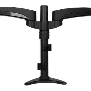 Verstellbare Dual Monitorhalterung, schwarz STARTECH.COM ARMDUAL
