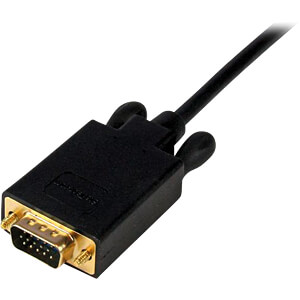 Kabel mini DisplayPort Stecker > VGA Stecker 1,8 m STARTECH.COM MDP2VGAMM6B