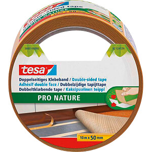 Doppelseitiges Klebeband Eco Fixation, 10 m TESA 56451-00000-11