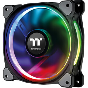 Thermaltake Riing Plus 12 RGB Lüfter 3 Stück inkl. Controller THERMALTAKE CL-F053-PL12SW-A